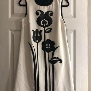 Victoria Beckham Black and White Dress